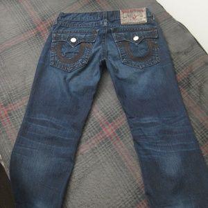 Authentic True Religion Rainbow Billy Jeans
